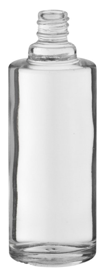 flacon bouillotte ronde 50ml eur 4 verre transparent embelia. Black Bedroom Furniture Sets. Home Design Ideas