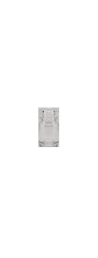 flacon rond e o 2 5ml pharma 13 verre transparent embelia. Black Bedroom Furniture Sets. Home Design Ideas