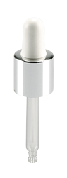 pp closure f19 dropper eur 5 silver shroud for classic 30 ml