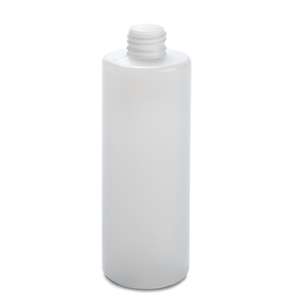 plastic container procare bottle 250 ml gcmi 24 410  besafe natural pe