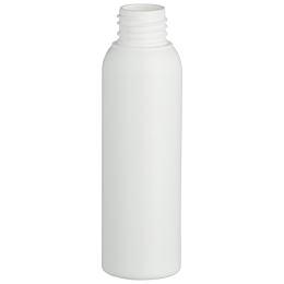 pehd container douceur bottle 100ml gcmi 24 410 besafe white pe