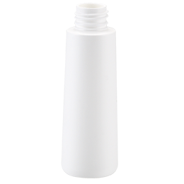 pehd container goutte bottle 100ml gcmi 24410 besafe white pe