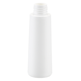 pp container goutte bottle 100ml gcmi 24 410 besafe white pp