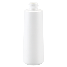 pp container goutte bottle 200ml gcmi 24 410 besafe white pp