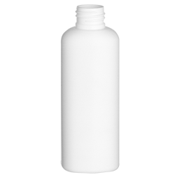 pehd container voyage bottle 125ml gcmi 24 410 white pe