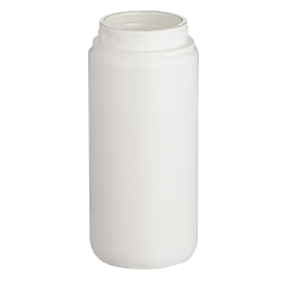contenant en pp flacon airless ecosolution 100ml pp blanc