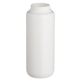 contenant en pp flacon airless ecosolution 200ml pp blanc