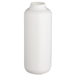 contenant en pp flacon airless ecosolution 400ml pp blanc