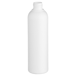 pehd container douceur bottle 250ml gcmi 24 410 besafe white pe