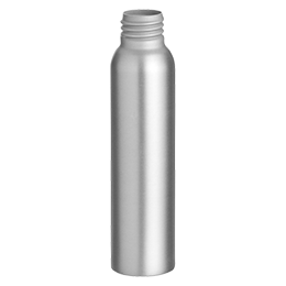 aluminium container douceur bottle 100ml gcmi 24 410 free bpa aluminium