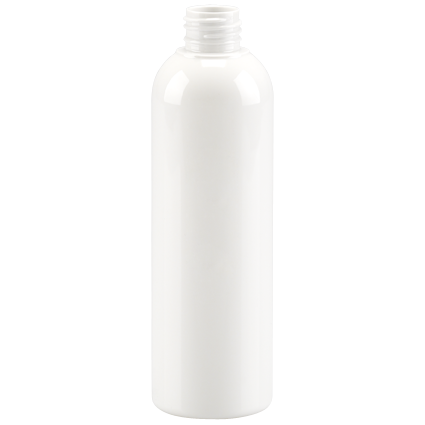 petp container douceur bottle 250 ml gcmi 24 410 besafe white petp