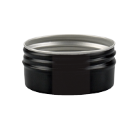 aluminium container black alu jar 50 ml