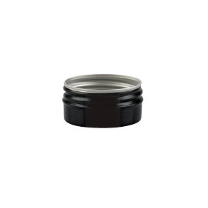 aluminium container black alu jar 30 ml