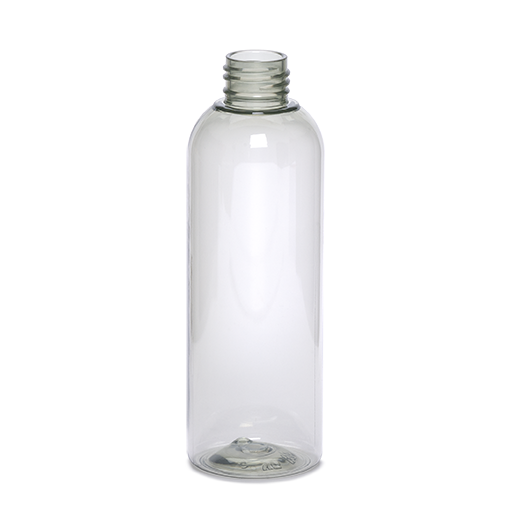 plastic container douceur bottle -200ml-gcmi 24 410recycled pet crystal 100%