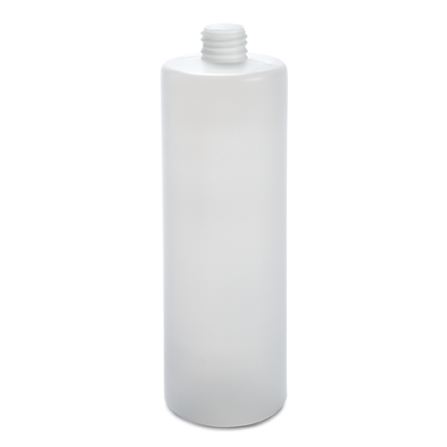 plastic container procare bottle 500 ml gcmi 24 410  besafe natural pe