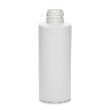 plastic container procare bottle 125 ml gcmi 24 410  besafe white pe