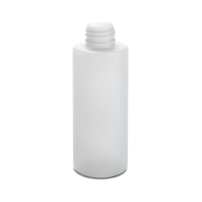 plastic container procare bottle 125 ml gcmi 24 410  besafe natural pe