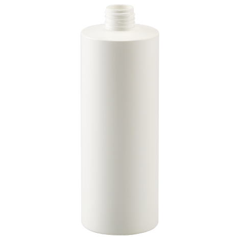 pehd container classic fb bottle 400 ml gcmi 24 410 white hd pe