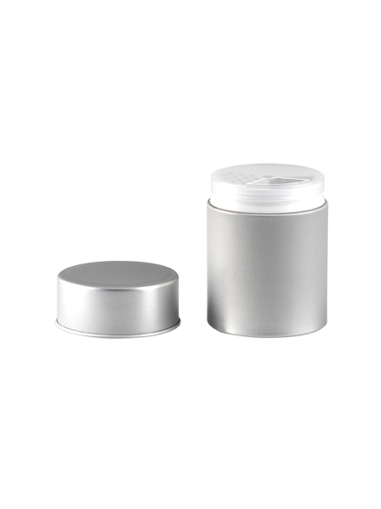 aluminium container spices box 100 ml aluminium sieve and lid